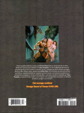 Verso de Savage Sword of Conan (The) - La Collection (Hachette) -52- Le code du loup