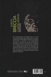 Verso de (AUT) Breccia, Alberto - Alberto Breccia, le maître argentin insoumis