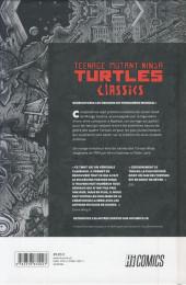 Verso de Teenage Mutant Ninja Turtles Classics -1- Les Origines