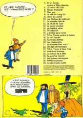 Verso de Tif et Tondu -24a1983- Aventure birmane