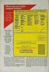 Verso de Marvel Feature Vol 1 (Marvel - 1971) -8- The Astonishing Origin of the Wonderful Wasp!