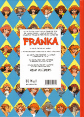 Verso de Franka (BD Must) -24TT25- Hold-up en plein vol
