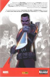 Verso de Avengers (Marvel France - 2019) -10- Capitaine de rien
