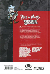 Verso de Rick and Morty vs. Dungeons & Dragons