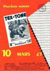 Verso de Tex-Tone -236- L'U.S. Marshall
