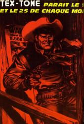 Verso de Tex-Tone -329- Simon le nouveau