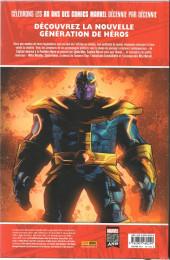 Verso de Décennies - Marvel dans les années ... -8- Années 2010 - Un héritage de légende