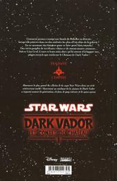Verso de Star Wars - Dark Vador : les contes du château -1- Tome 1