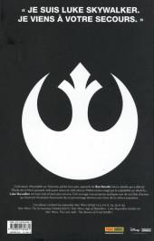 Verso de Star Wars - Je suis Luke Skywalker - Je suis Luke Skywalker