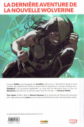Verso de All-New Wolverine (Marvel Legacy) -2- Old Woman Laura