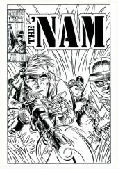 Verso de 'Nam magazine (The) (Marvel - 1984) -1- (sans titre)