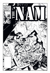 Verso de 'Nam magazine (The) (Marvel - 1984) -2- (sans titre)