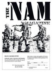 Verso de 'Nam magazine (The) (Marvel - 1984) -3- (sans titre)