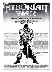 Verso de 'Nam magazine (The) (Marvel - 1984) -7- (sans titre)
