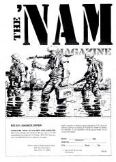 Verso de 'Nam magazine (The) (Marvel - 1984) -9- (sans titre)