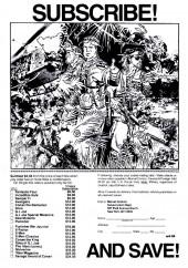 Verso de 'Nam magazine (The) (Marvel - 1984) -10- (sans titre)