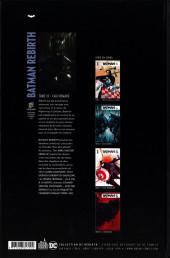 Verso de Batman Rebirth -10- Cauchemars
