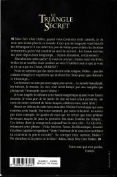 Verso de Le triangle Secret -HS5- Les larmes du pape