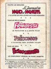 Verso de Frimousse et Frimousse-Capucine -184- Le gang des copains