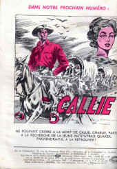 Verso de Frimousse et Frimousse-Capucine -58- Romance au collège