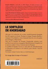 Verso de Alix -HS14- Le sortilège de Khorsabad