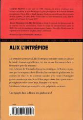 Verso de Alix -HS13- Alix l'intrépide
