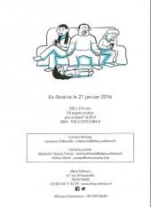 Verso de Les cahiers d'Esther -DP- Histoires de mes 10 ans