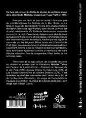Verso de (AUT) Pratt, Hugo - Un songe de corto maltese - À propos de fable de venise