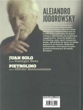 Verso de Alejandro Jodorowsky 90e anniversaire -9- Volume 9