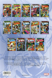 Verso de X-Men (L'intégrale) -2INTa2019- 1977-1978