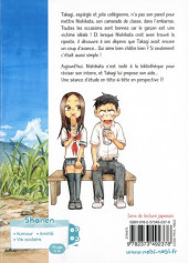 Verso de Quand Takagi me taquine -2- Tome 2