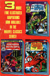 Verso de Marvel Classics Comics (Marvel - 1976) -2- The Time Machine
