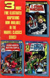 Verso de Marvel Classics Comics (Marvel - 1976) -4- 20,000 Leagues Under The Sea
