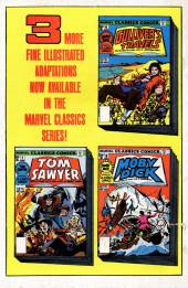 Verso de Marvel Classics Comics (Marvel - 1976) -5- Black Beauty