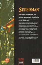 Verso de Superman - Jour de deuil - Jour de deuil