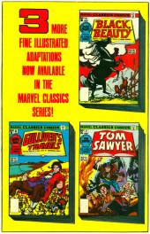 Verso de Marvel Classics Comics (Marvel - 1976) -8- Moby Dick