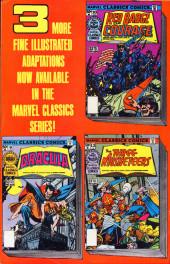 Verso de Marvel Classics Comics (Marvel - 1976) -11- Mysterious Island