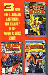 Verso de Marvel Classics Comics (Marvel - 1976) -12- The Three Musketeers