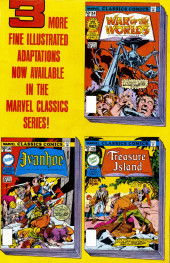Verso de Marvel Classics Comics (Marvel - 1976) -13- The Last of the Mohicans