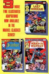 Verso de Marvel Classics Comics (Marvel - 1976) -15- Treasure Island