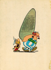 Verso de Astérix -4c1971- Astérix gladiateur