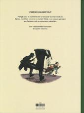 Verso de Spirou et Fantasio par... (Une aventure de) / Le Spirou de... -15ES- L'Espoir malgré tout - Deuxième partie - Un peu plus loin vers l'horreur