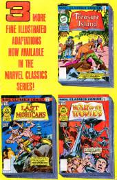 Verso de Marvel Classics Comics (Marvel - 1976) -16- Ivanhoe