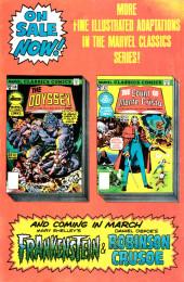 Verso de Marvel Classics Comics (Marvel - 1976) -17- The Count of Monte Cristo