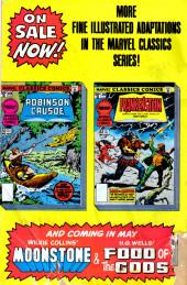 Verso de Marvel Classics Comics (Marvel - 1976) -19- Robinson Crusoe