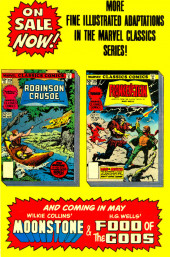 Verso de Marvel Classics Comics (Marvel - 1976) -20- Frankenstein