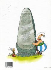 Verso de Astérix (Hors Série) -C01d2005- Les 12 Travaux d'Astérix