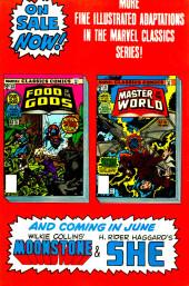 Verso de Marvel Classics Comics (Marvel - 1976) -21- Master of the World
