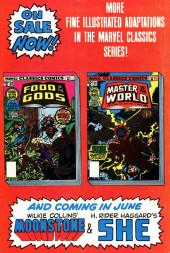 Verso de Marvel Classics Comics (Marvel - 1976) -22- Food of the Gods