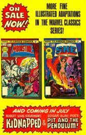 Verso de Marvel Classics Comics (Marvel - 1976) -23- The Moonstone